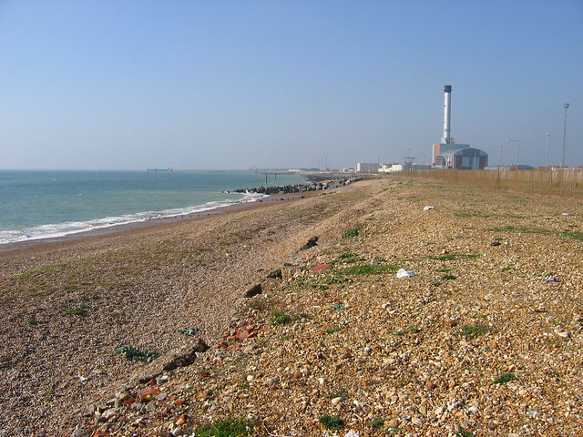 The beach at Southwick