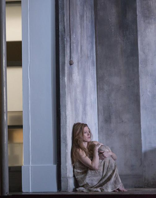 Barbara Hannigan in Written on Skin, The Royal Opera © ROH 2016. Photograph by Stephen Cummiskey