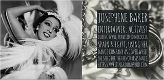Josephine Baker #100travelHERS | by sandrakaybee