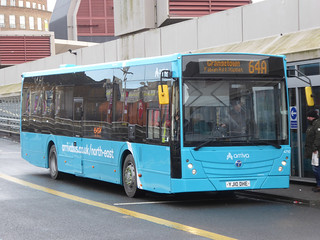 Arriva North East 4710 (YJ10 DHE) | by kuyoyo