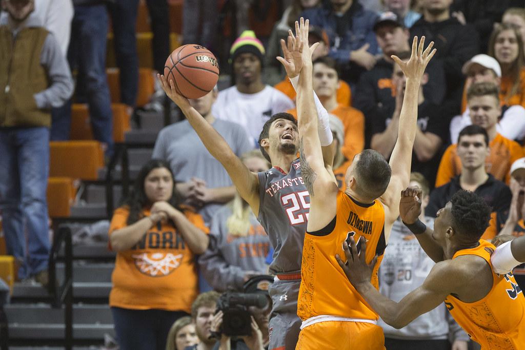 Oklahoma State Cowboys Vs Texas Tech Red Raiders Basketbal Flickr