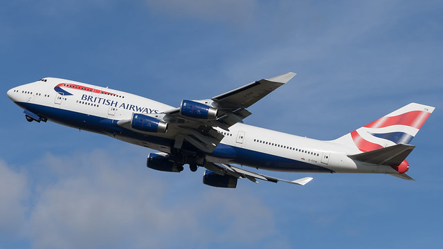 LHR - British Airways Boeing 747-400 G-CIVW