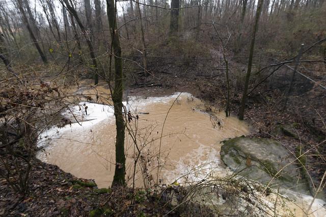 Ensor Sink flooded, Cookeville, Tennessee 1