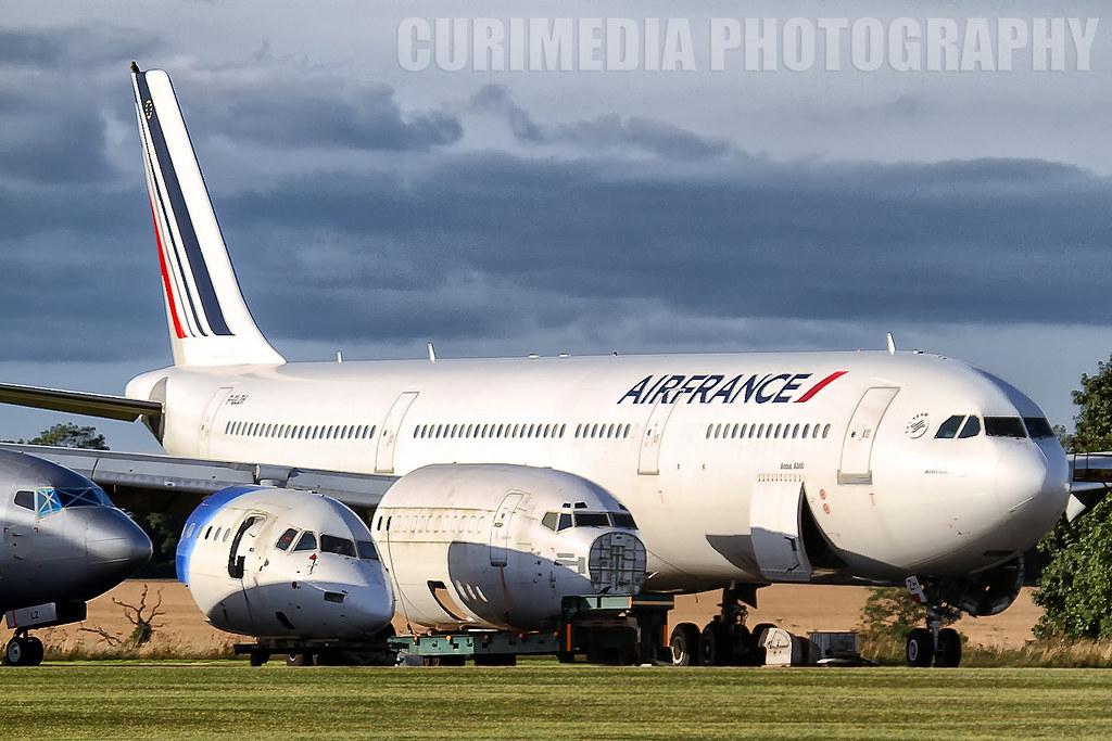 Airbus A340-311 Air France F-GLZH