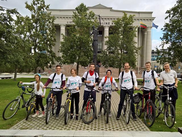 Lithuania-2017-08-26-A 'Peace Road' through Lithuania's Historic Capital
