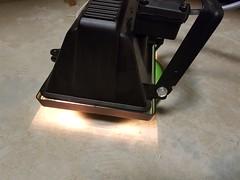 Indicateur de chauffe lumineux intégré