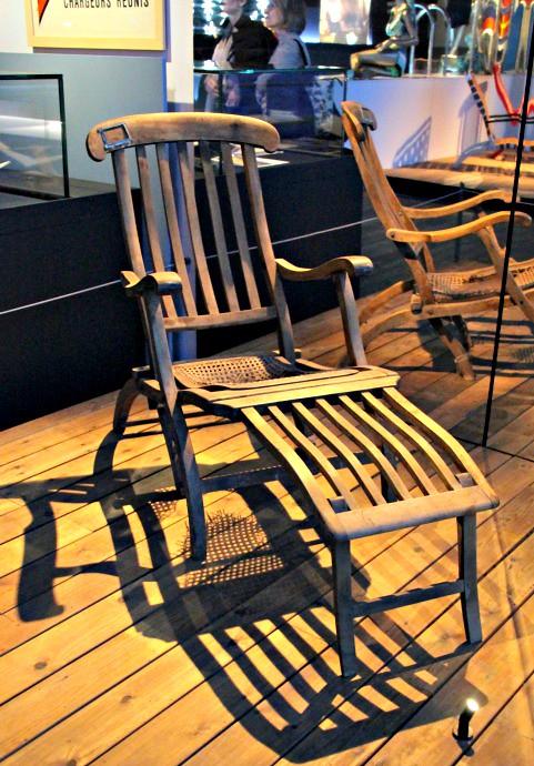Titanic deckchair | by Peter Denton Titanic deckchair | by Peter Denton & Titanic deckchair | Now weu0027ve all heard the expression u201crearu2026 | Flickr