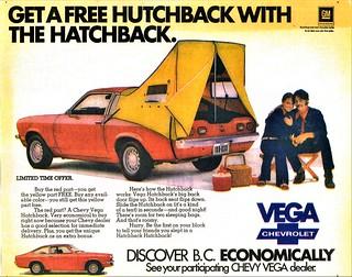 1973 Chevrolet Vega Hatchback Hutchback