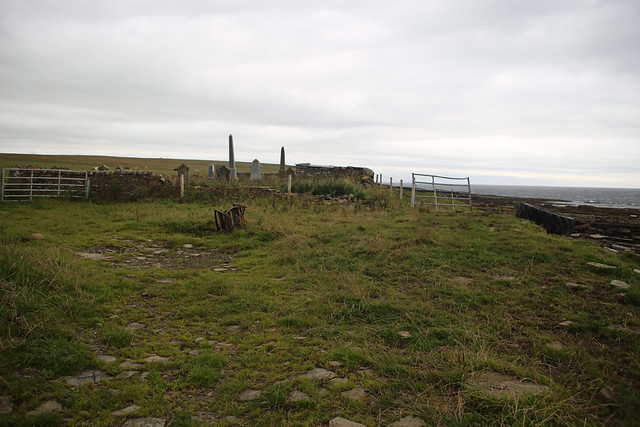 Remains of former chapel