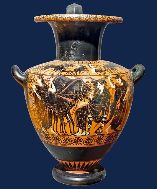 Greek vase 023 Dionysos et Ariadne 4bs - BNF de Ridder 257