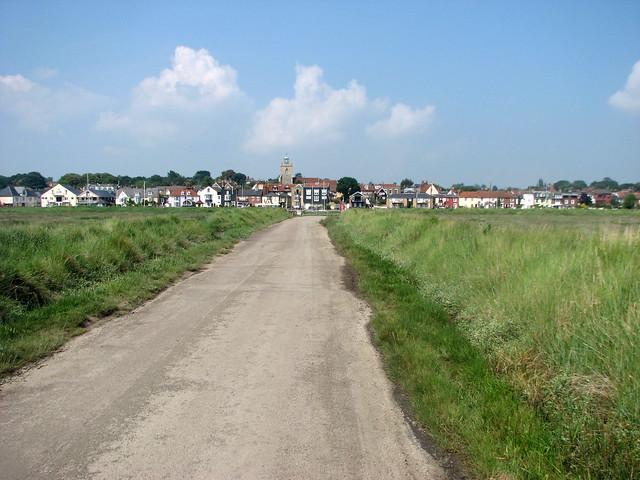 Wivenhoe from Fingringhoe