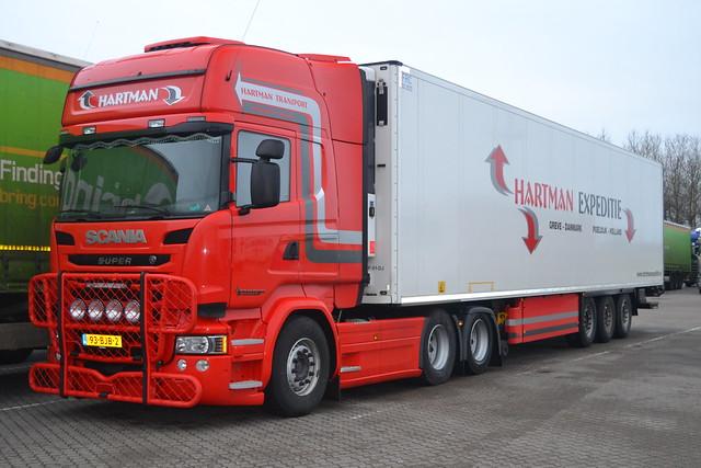 Scania R 450 Crown Edition Scania Streamline - Hartman Transport - NL  94-BJB-2