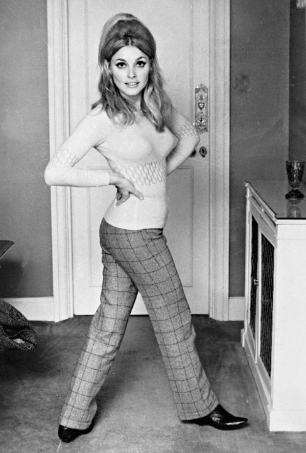 Image result for sharon tate braids
