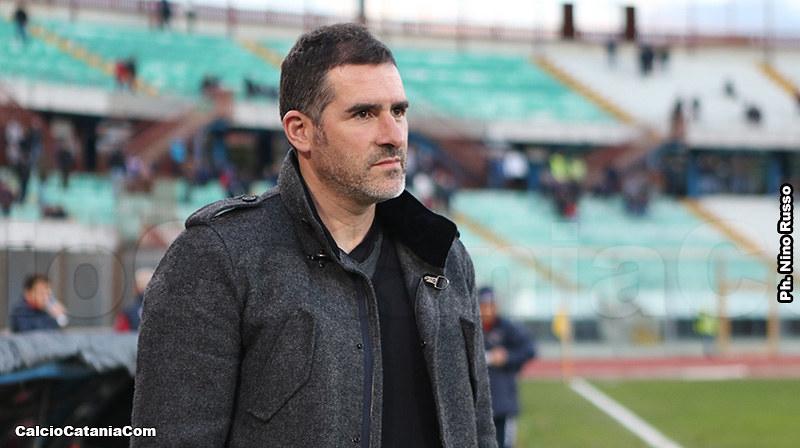 Cristiano Lucarelli, tecnico del Catania