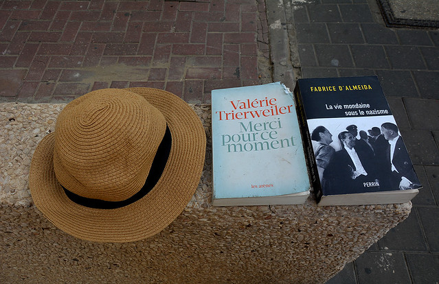 Two books & a hat