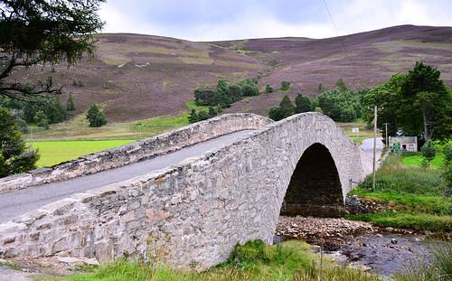 Gairnshiel Bridge, Scottish Highlands | by M McBey