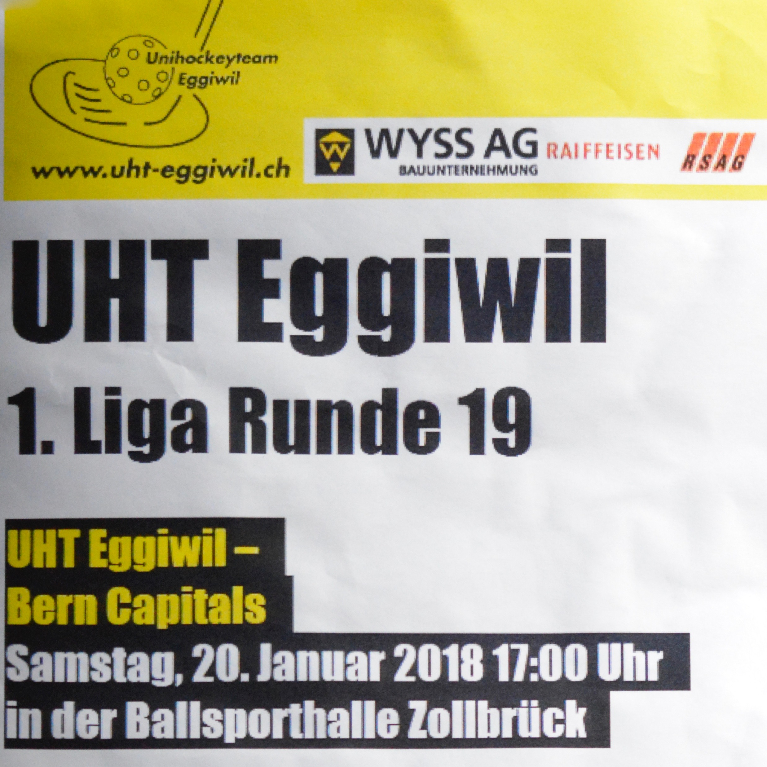 Herren I - Bern Capitals Saison 2017/18
