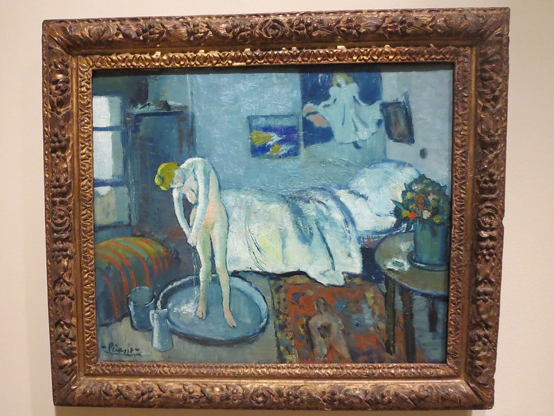 Modern Technology Reveals a Hidden Painting Underneath Picasso's 'The Blue Room'