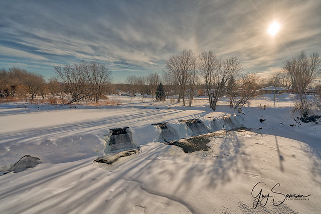 Nicolet River in Deep Cold