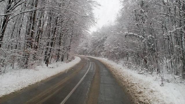 Croatia in Snow