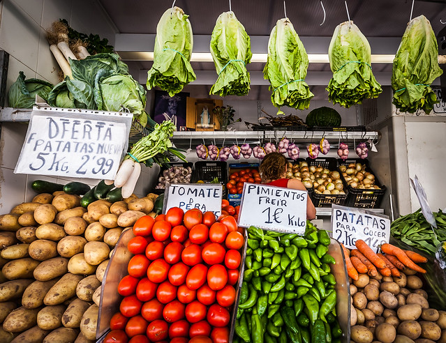 food market in Andalucia