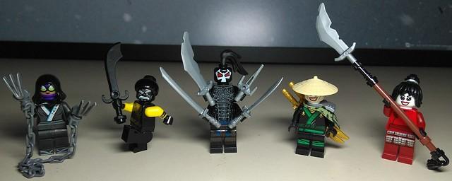 Yokat, Oni Mask, Baro, Jokushi and Hara Keisha