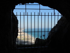 From the Great Siege Tunnel, Rock of Gibraltar