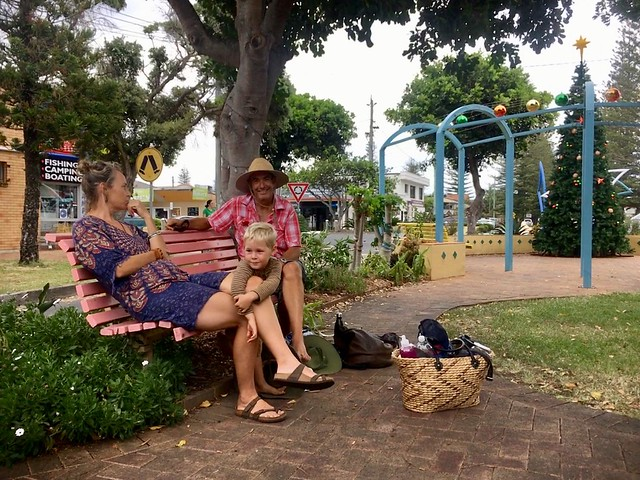 Hangin' in town with our Yamba besties...