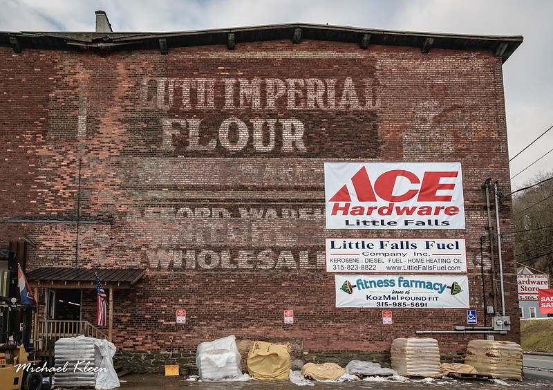 Duluth Imperial Flour Ghost Sign