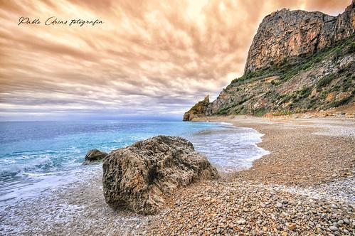 pabloarias photoshop photomatix capturenxd españa cielo nubes mar agua mediterráneo costabahía paisaje playa acantilado cantos olas caladelmoraig banitatxell alicante