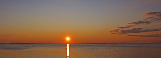Sunrise at North Beach, MD