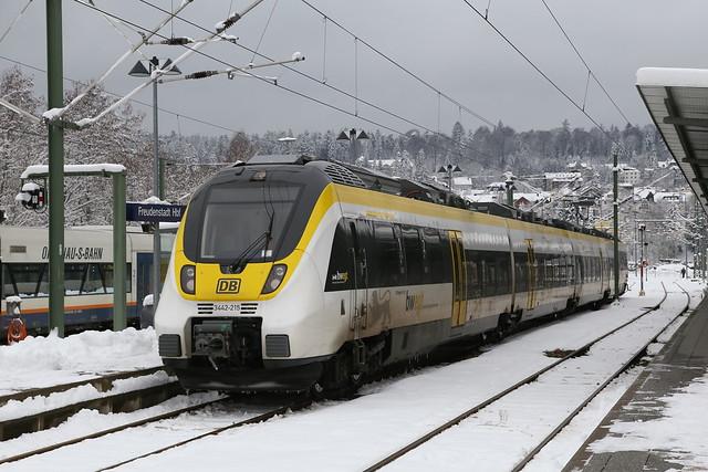 DB Regio 3442 215-4 Freudenstadt Hbf
