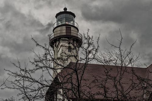 lighthouse lakemichigan winter january 2018 evanstonil architecture travelillinois illinoistravel