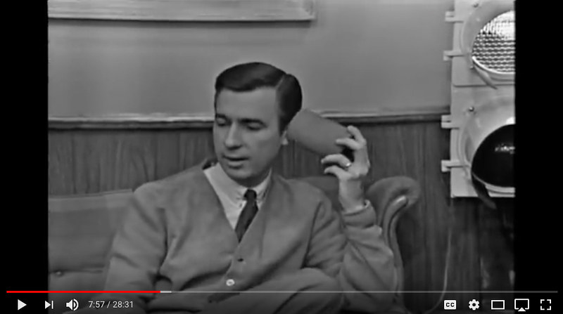 Still From First Episode Of Mr Rogers Neighborhood Flickr