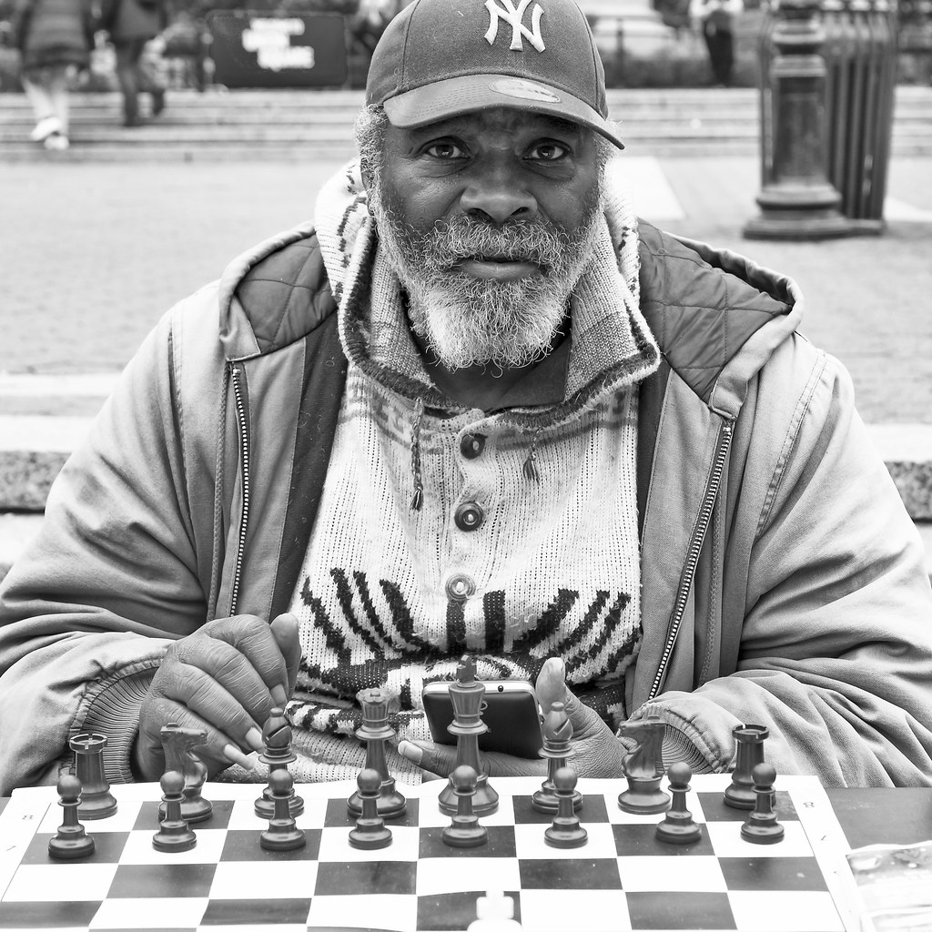 NYC - Chess Player | Jacopo Colombo | Flickr