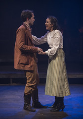 Tue, 2017-03-14 16:53 - Outside the hoedown, Johnse and Rose Anna meet, and find that they both have a passion for Shakespeare's sonnets...and maybe for each other. Haley Bolithon as Rose Anna McCoy, Kyle Whalen as Johnse Hatfield