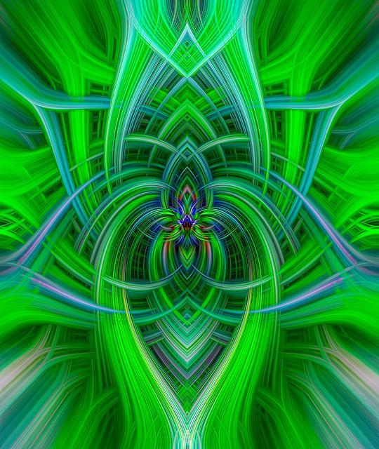 Spiritual Twirl Art #23  -