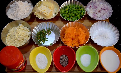 Carrot Cookies Ingredients