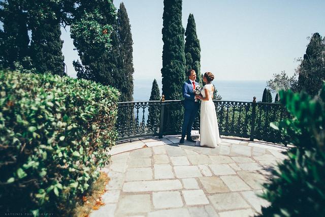 Symbolic wedding ceremony for Aleksandr and Elena
