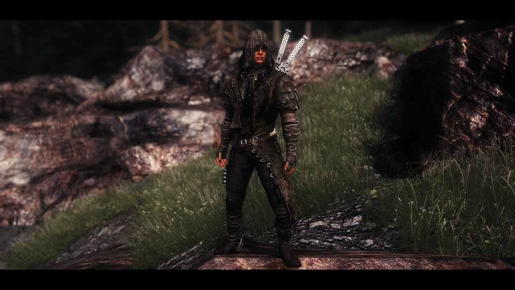 Skyrim LE - BDO Damaged Sculpture Armor | Antique Dragon ENB