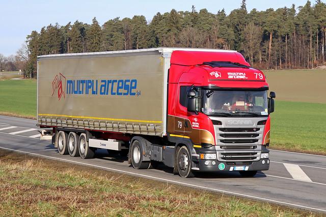 Scania R-490 / Multipli Arcese SpA