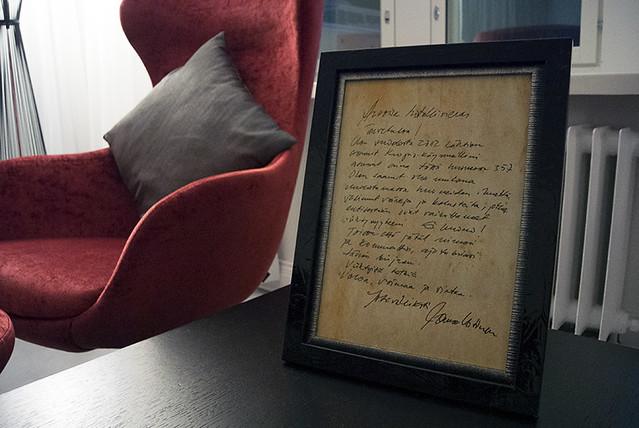 jorman kirje