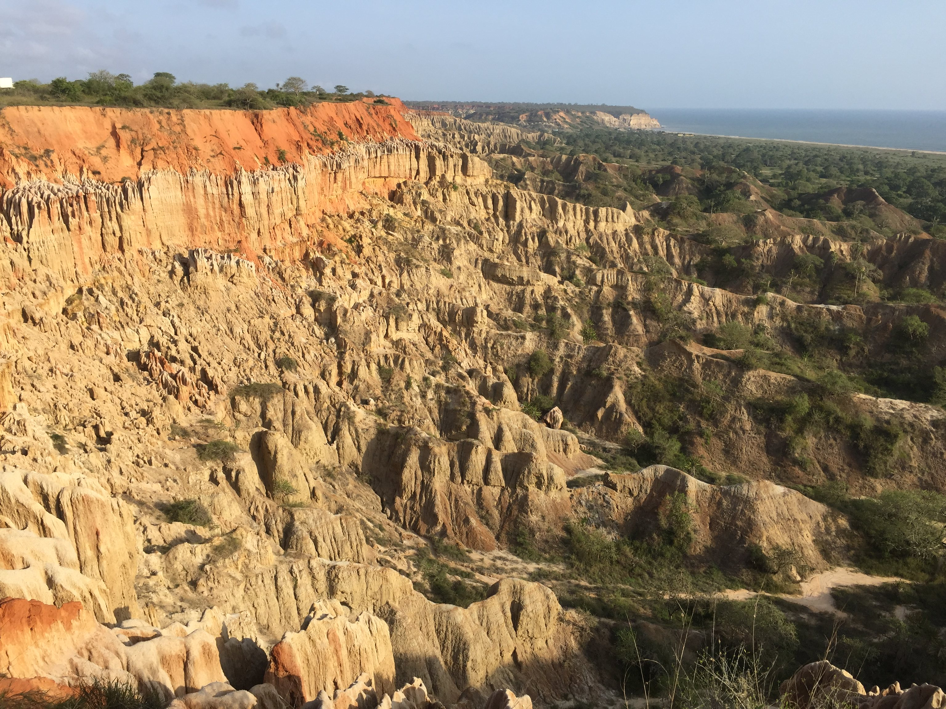 The Moon Valley near Cuanza, Kwanza River, The Miradouro da Lua, The Luanda Mirador, Luanda, Angola