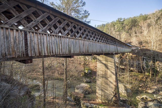 Horton Mill covered bridge, Blount County, Alabama 1