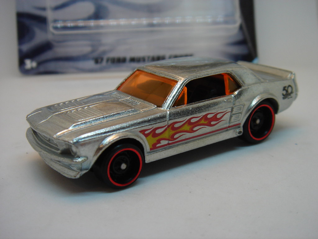 Hot wheels 1967 ford mustang coupe gt no7 1 64 by ambassador84 over