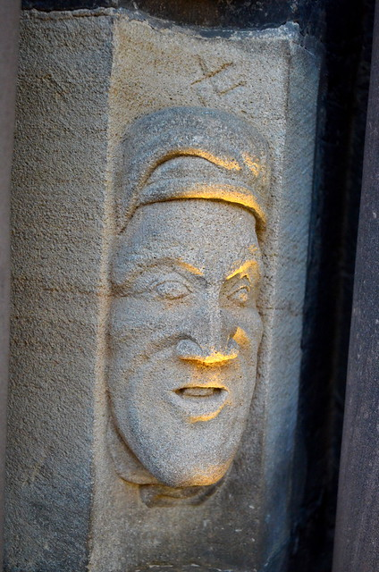 Face On The Cathedral [Colmar - 8 December 2017]