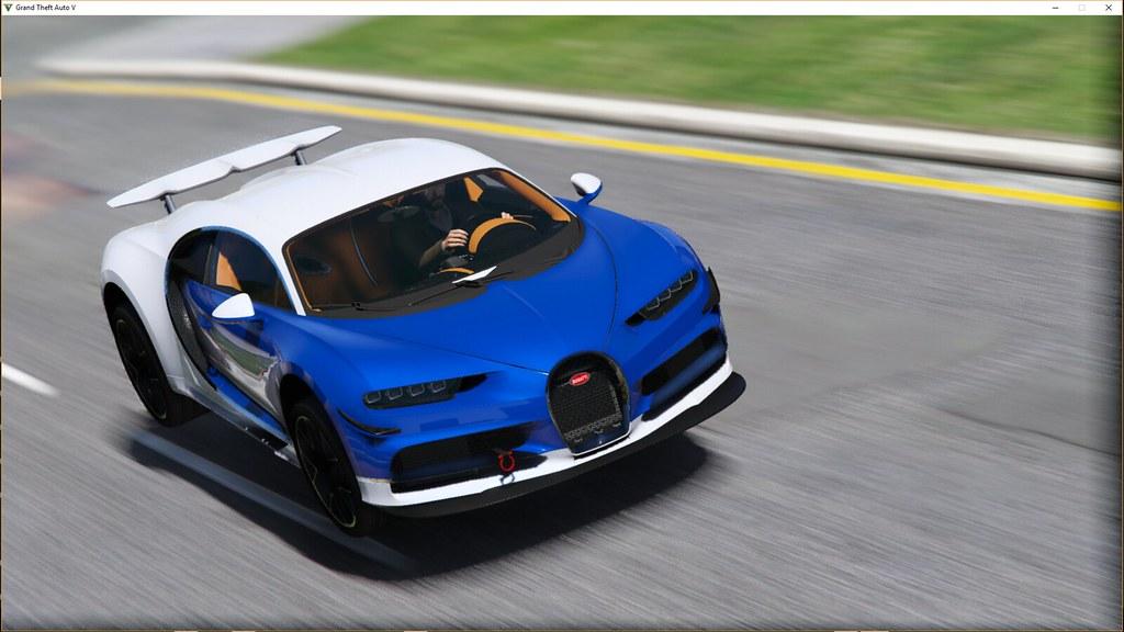 GTA 5 MVR - Bugatti Chiron | Make Visual Remastered | Flickr