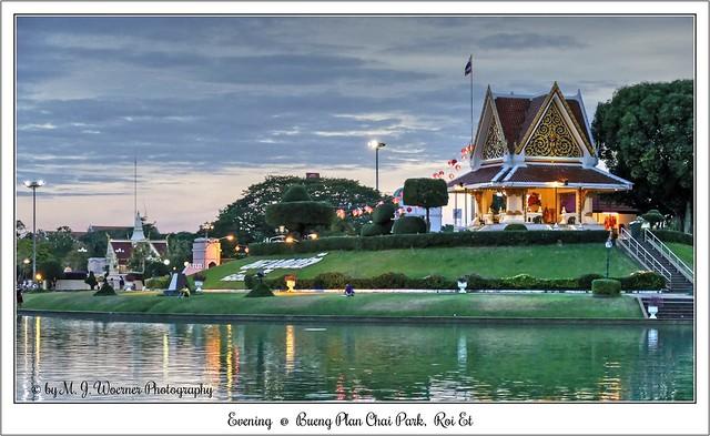 Evening @ Bueng Plan Chai Park, Roi Et  02