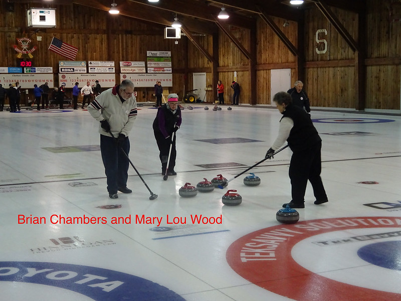 Retired teachers and friends Bonspiel.  Event held January 19th 2018 at the Chatham Granite Club.