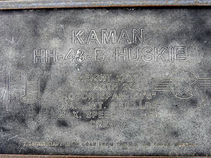 Kaman HH-43B Huskie 6